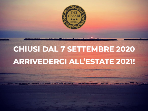 Hotel Dei Cesari - Igea Marina di Rimini - chiusura 2020